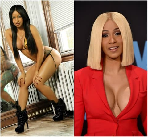 Cardi B Plastic Surgery Before After 1