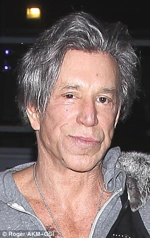 Mickey Rourke Before Plastic Surgery 1