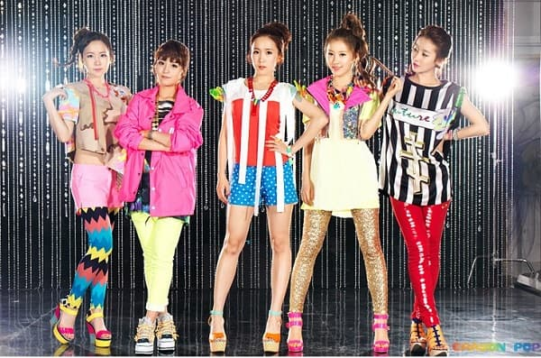 Crayon Pop Before Plastic Surgery 1