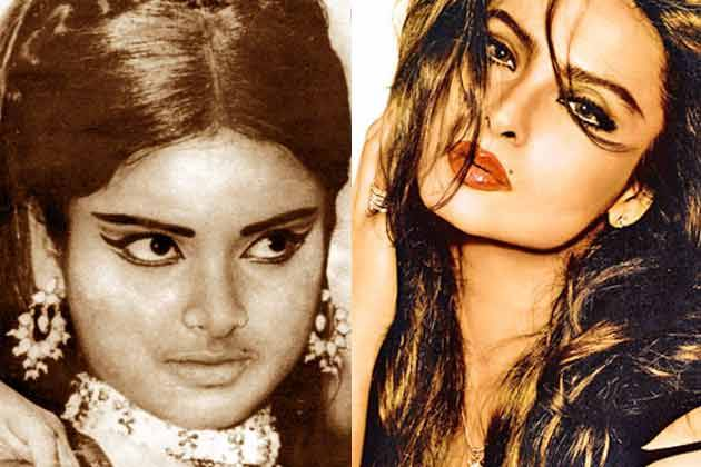 Rekha Before After Plastic Surgery 1