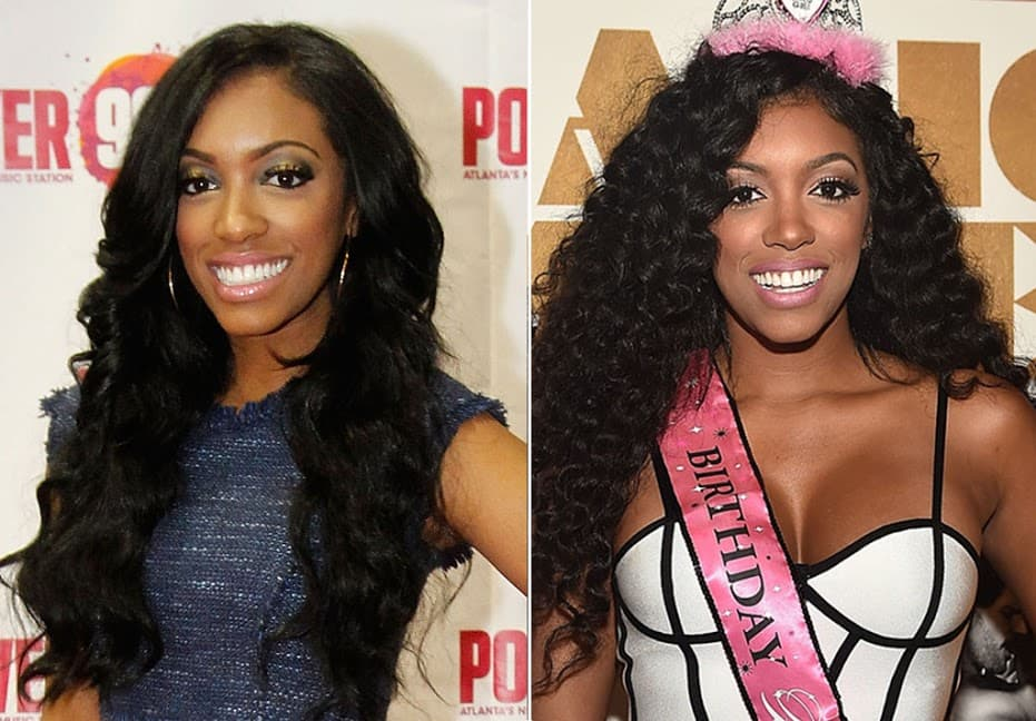 Porsha Before The Plastic Surgery 1