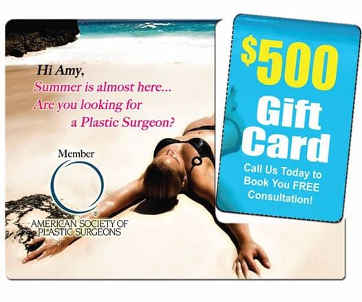 plastic surgery gift cards 1